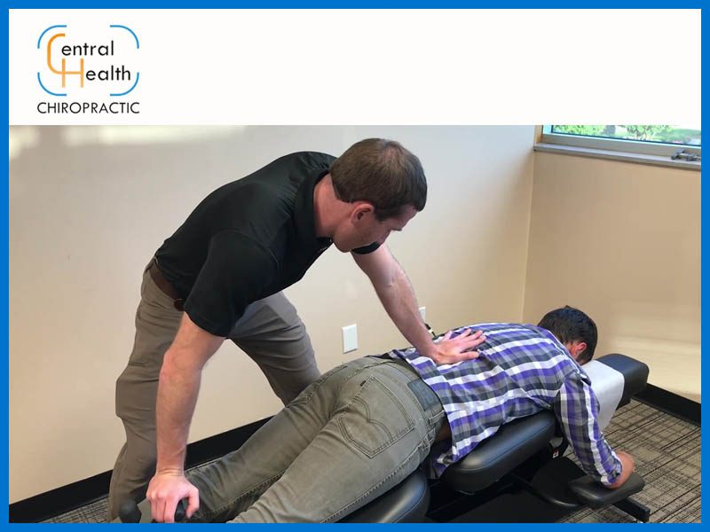 Chiropractor performing flexion distraction